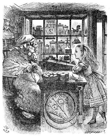 『鏡の国のアリス』に描かれた「The Old Sheep Shop」.jpg
