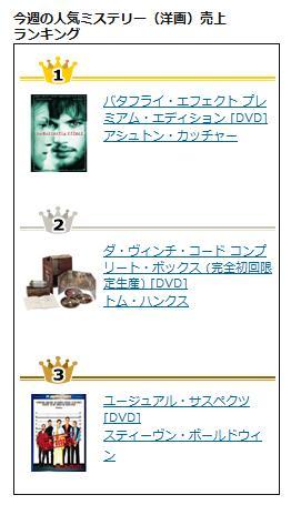 今週の人気ミステリー(洋画)売上ランキング.jpg
