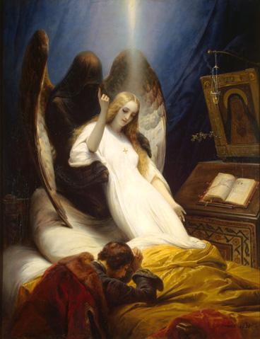 オラース・ヴェルネ 《死の天使》.jpg